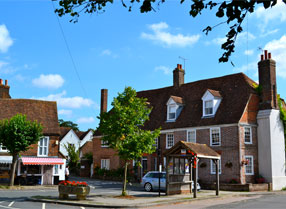 Village square in Lenham