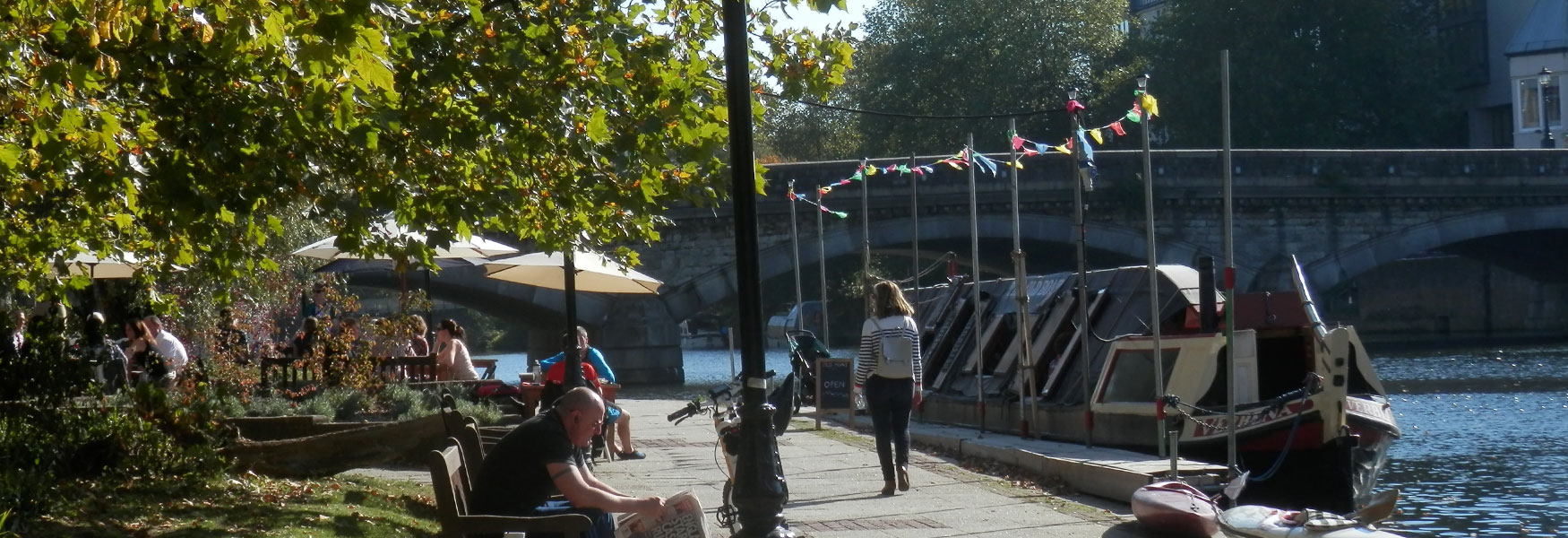 Maidstone River Park and the Old Boat Cafe
