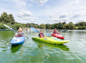Watersports on Mote Park Lake