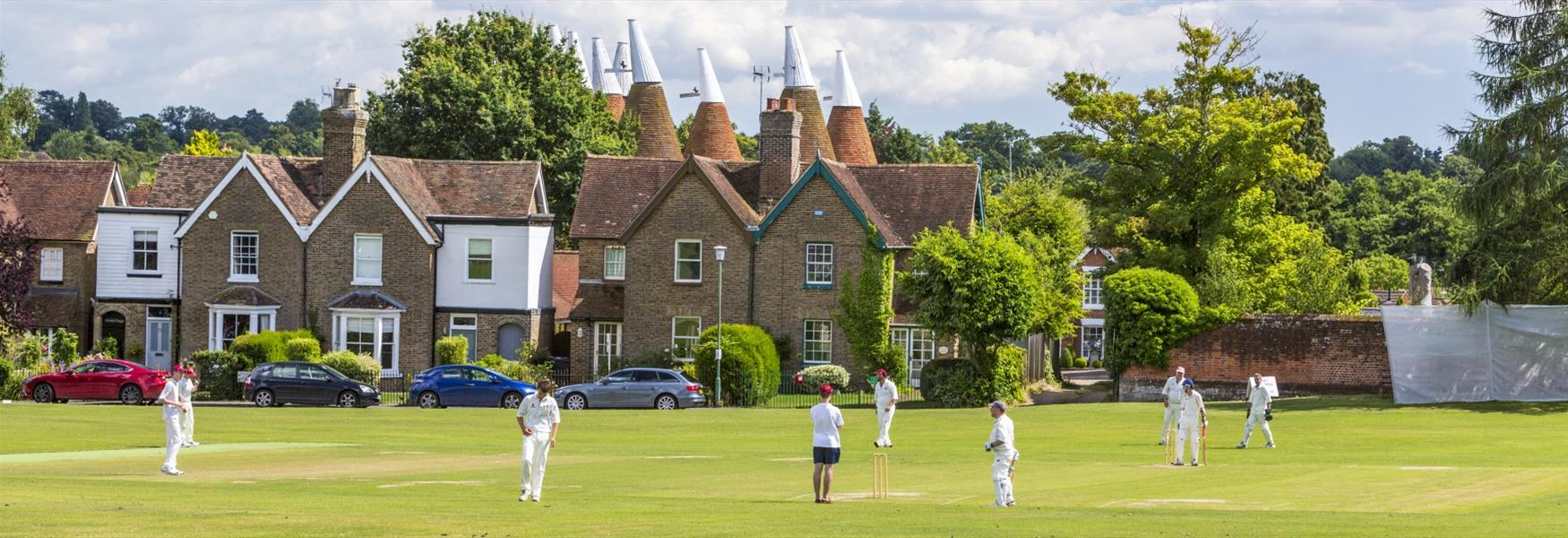 Cricket on Bearsted Green