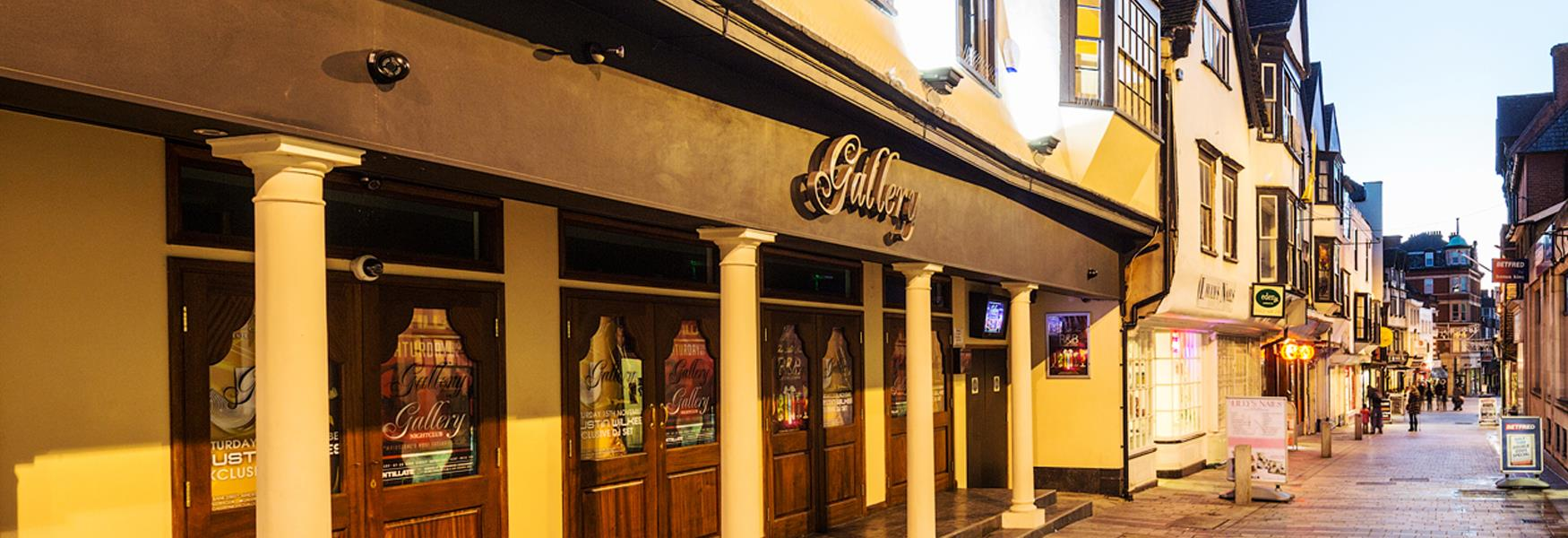 Gallery Nightclub is housed in a Grade II listed building
