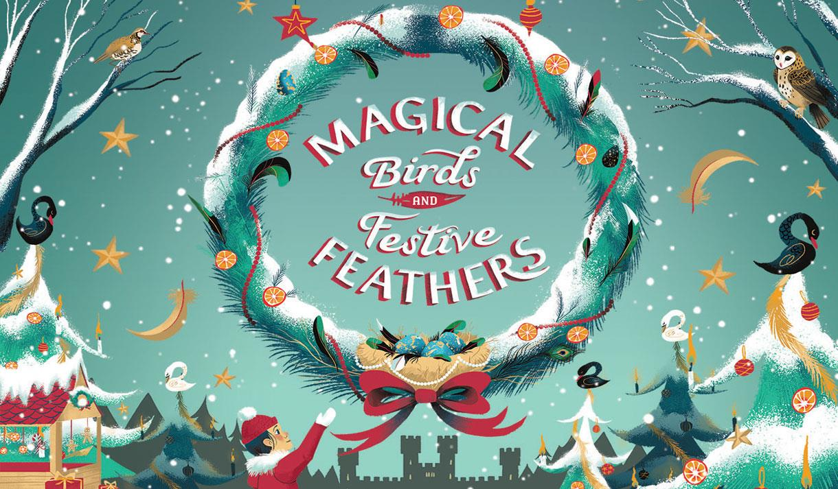 0cf9a1b5 Magical Birds and Festive Feathers at Leeds Castle - Show / Display ...