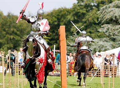 the grand medieval joust visit maidstone