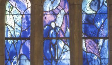 Chagall window at All Saints Tudeley