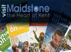 Advertise with us | at Visit Maidstone, publications, websites, newsletters etc.
