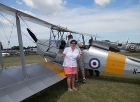 Inspire Me | Tiger Moth flights, Maidstone, Kent