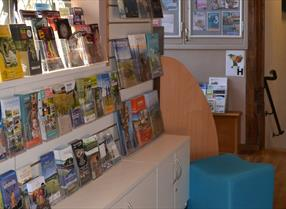 Leaflets at Tourist Information | Maidstone