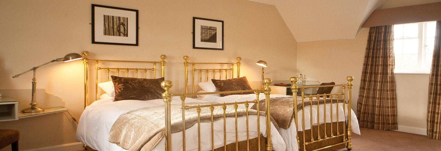 Bed and breakfast accommodation at Leeds Castle