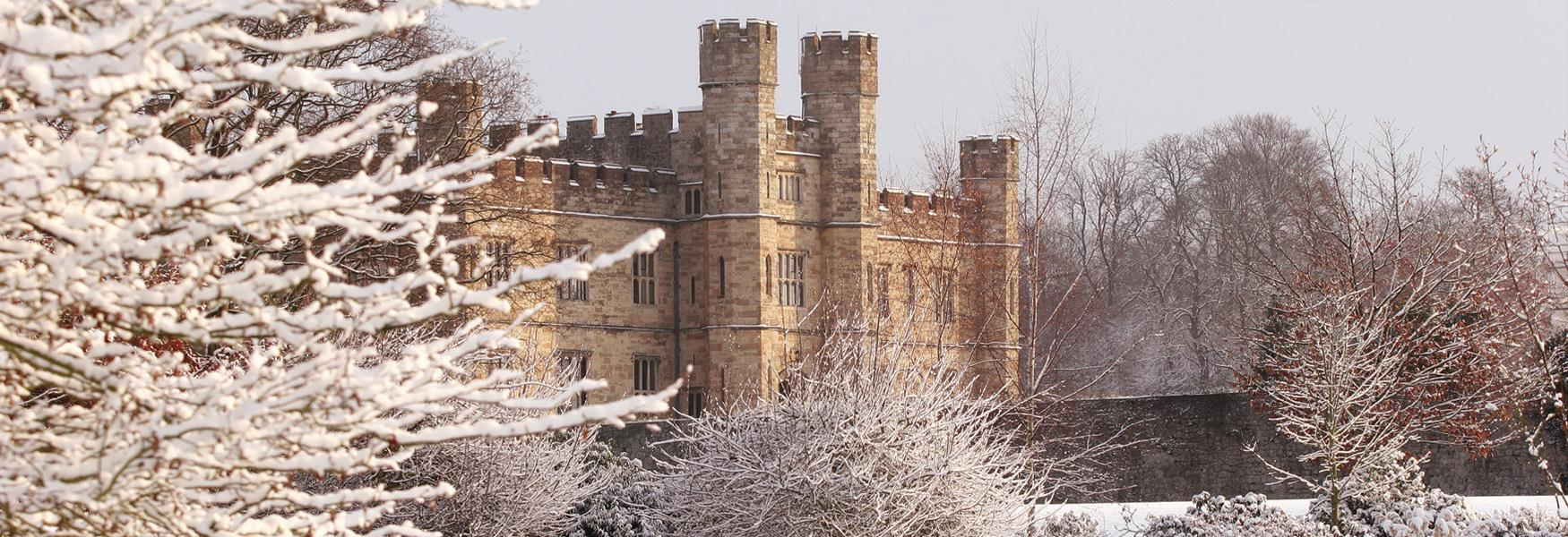 Leeds Castle in the Snow