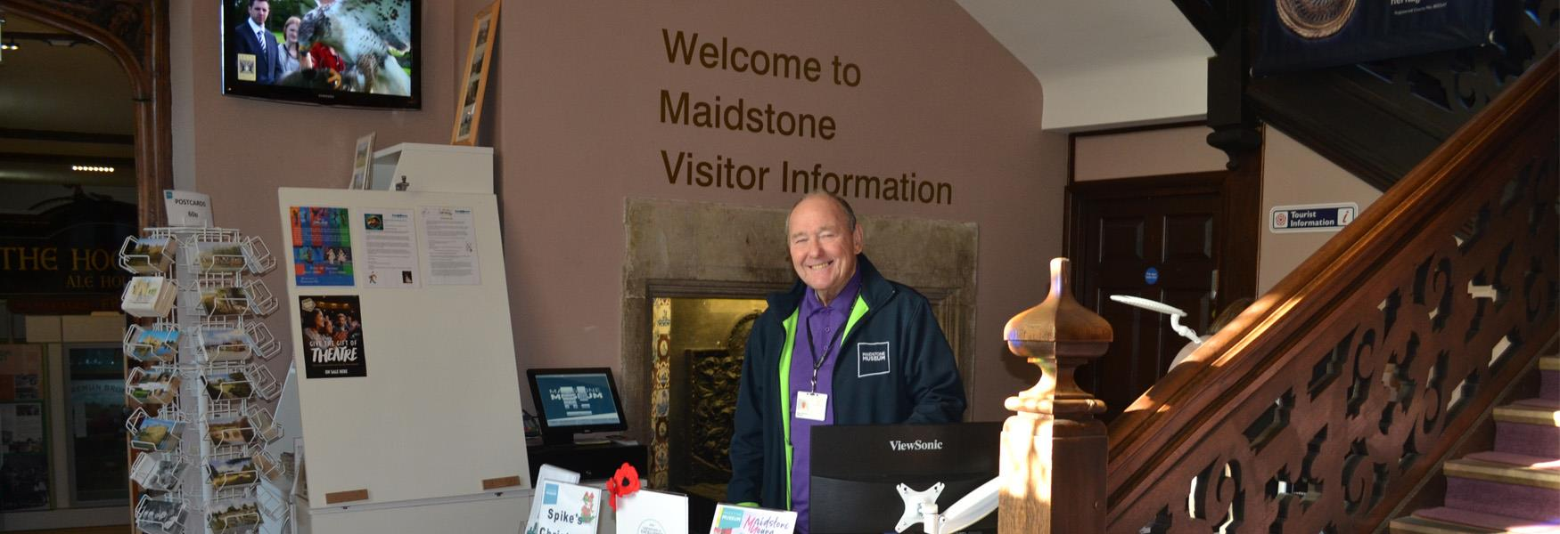 Here to help - Maidstone Tourist Information