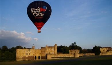Airborne Balloon Flight  over Leeds Castle