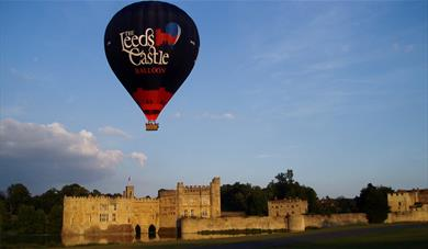 Balloon Flight over Leeds Castle Kent