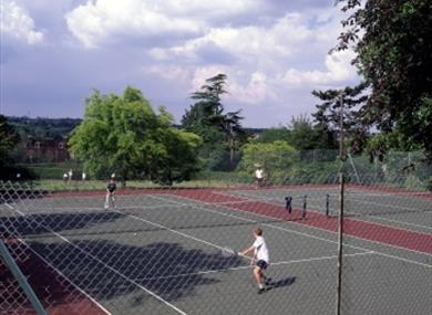 Tennis at Clare Park