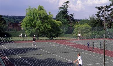 Clare Park tennis courts