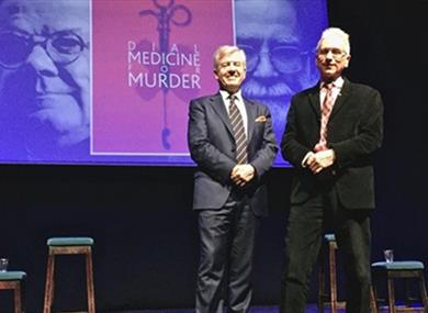 'Dial Medicine for Murder' Lecture
