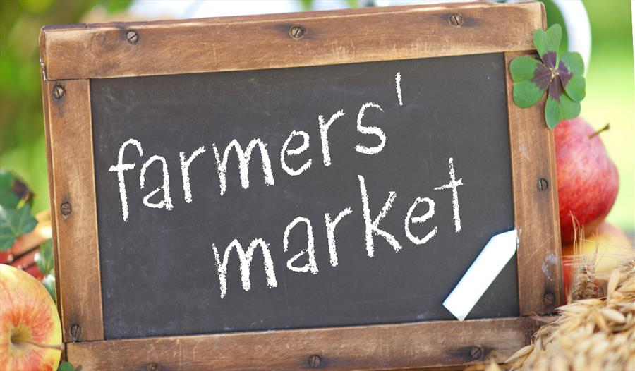 Farmers Market signage