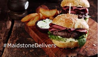 #Maidstone Delivers - Gourment Burger