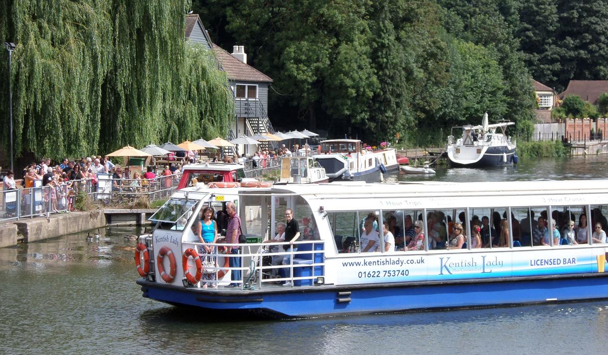 Kent River Cruise Kentish Lady Hire Cruisers