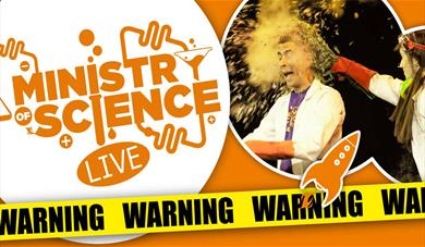 Explosive and educational science fun at the Hazlitt Maidstone!
