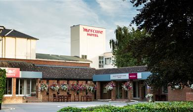Outside the Mercure Maidstone