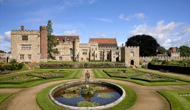 Photography by Peter Smith - Penshurst Place and Gardens South view of the house