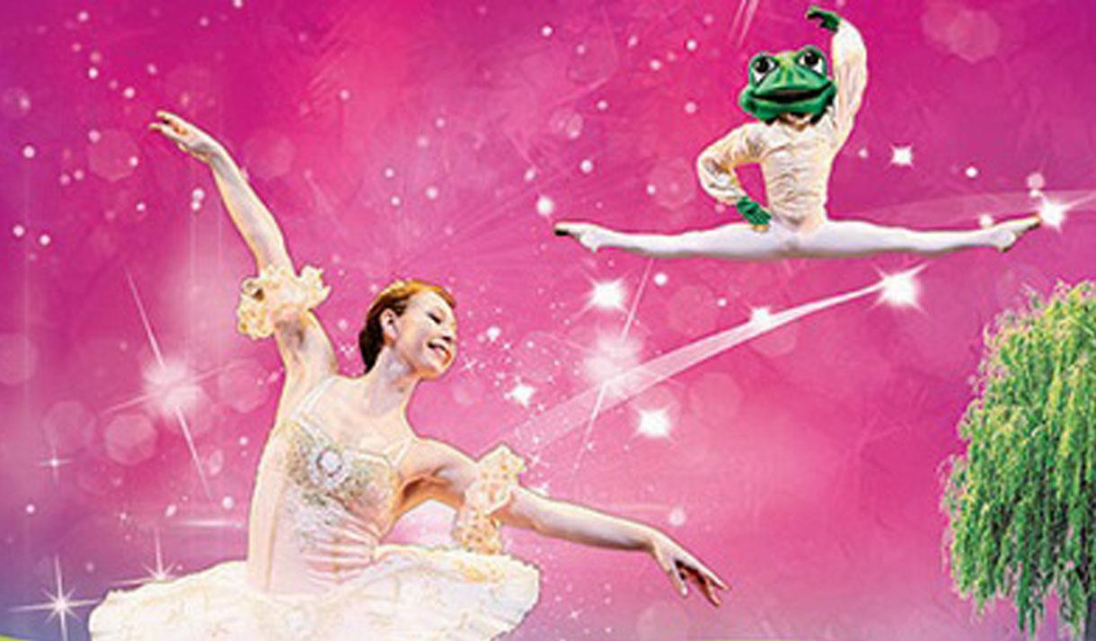 Magical ballet performance of The Princess and the Frog at the Hazlitt Maidstone.