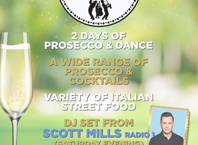 Prosecco and dance