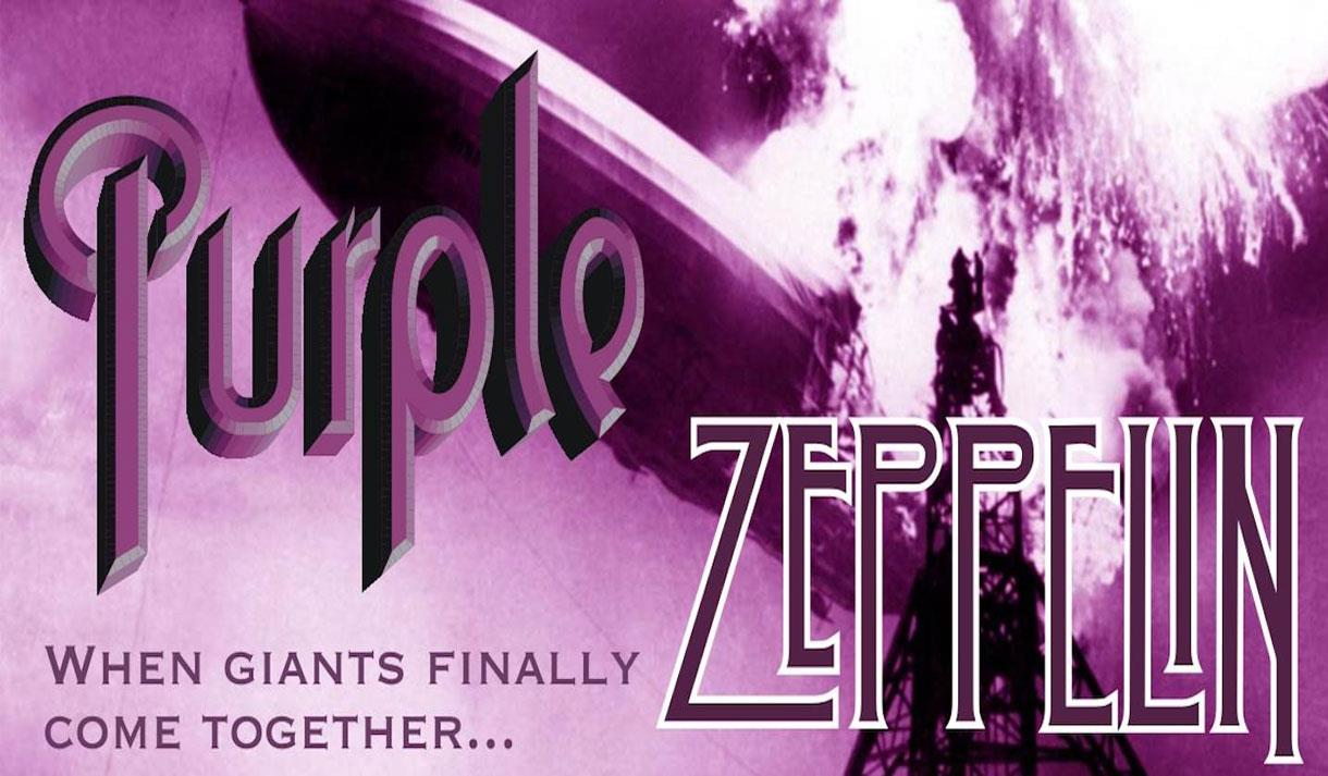 The ultimate rock tribute band! Deep Purple and Led Zeppelin combined! Purple Zeppelin at the Hazlitt Maidstone.