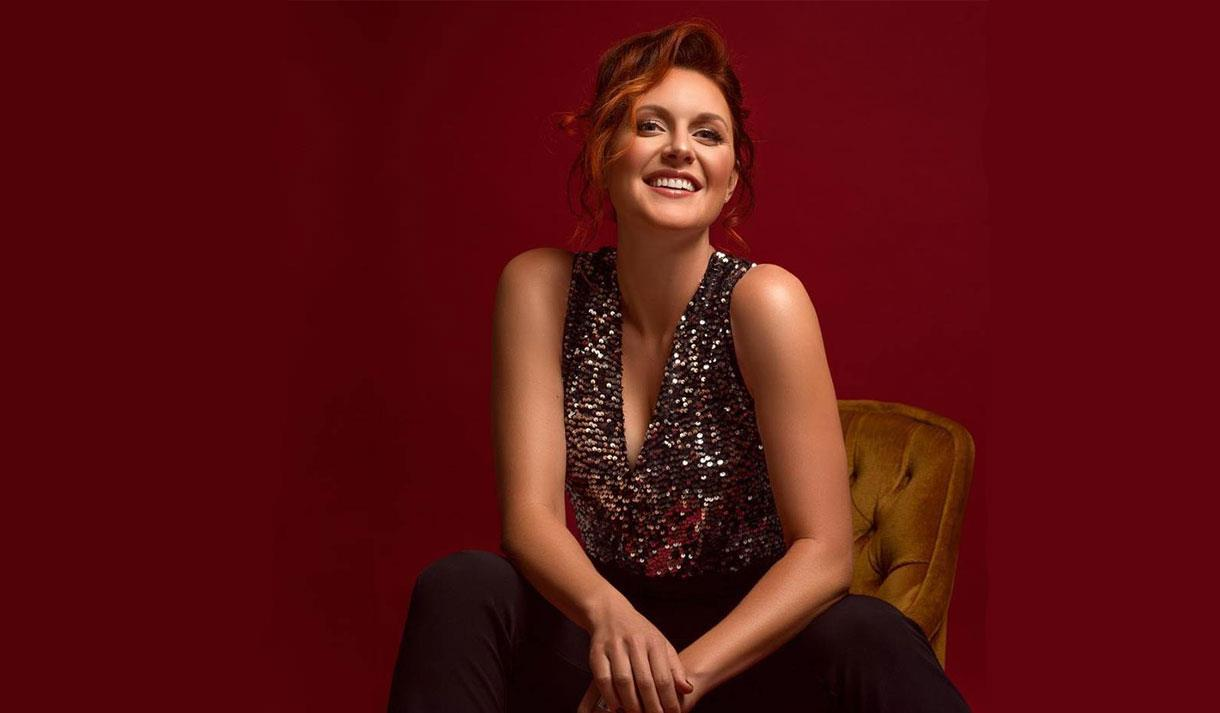 Jazz, Swing and Soul singer Robyn Bennett at Pizza Express in Maidstone.