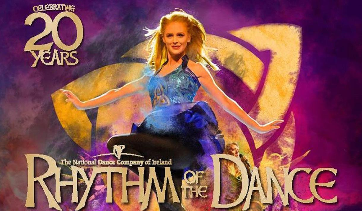 Irish production Rhythm of the Dance at Hazlitt Maidstone.