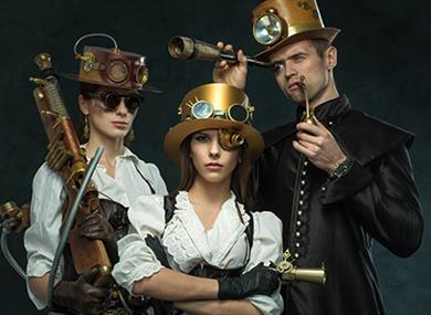Steampunk Muggleton Village with H P Lovecraft Film Festival