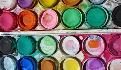 Summer holiday art workshops for teenagers.