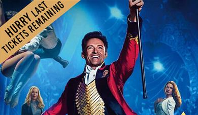 The Greatest Showman Open Air Cinema at Leeds Castle.