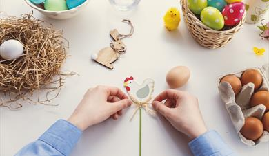*CANCELLED* Easter Crafts
